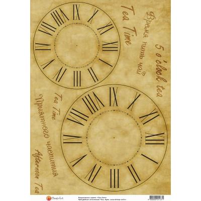 "фото декупажная карта ""tea time"" 1137-ca"