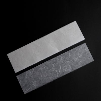 фото набор рисовой бумаги с волокнами для творчества, 27х7 см