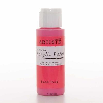 фото краска акриловая artiste, цвет - lush pink, 59 мл