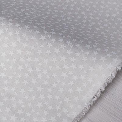 """фото ткань американский хлопок """"белый орнамент на белом""""   48489-w"""