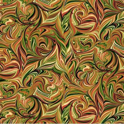 фото  ткань для пэчворка pumpkin harvest marble by color principle
