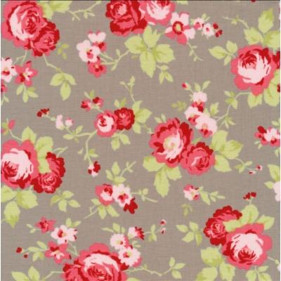 фото  ткань для пэчворка sophie main floral cobblestone