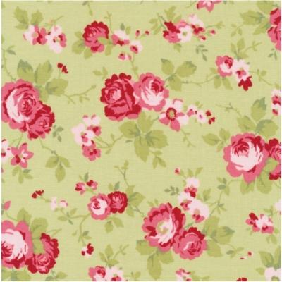 фото  ткань для пэчворка sophie main floral sprout