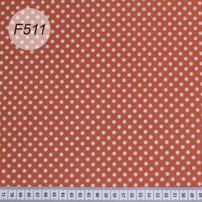 Ткань в горошек   F511  10*110см