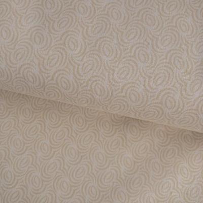фото  ткань для рукоделия бежевое на бежевом  natural geo