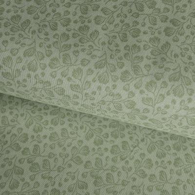 фото  ткань для рукоделия fernberry green
