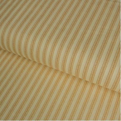 фото  ткань для рукоделия в полоску  marigold ticking away stripe