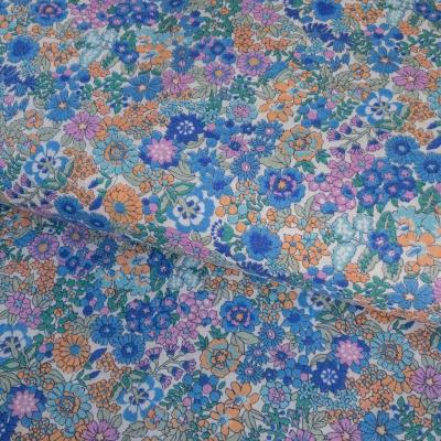 фото  ткань для рукоделия periwinkle floral