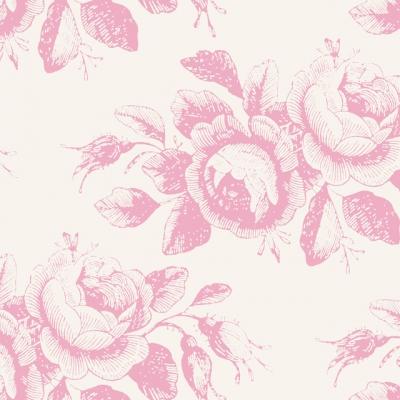 фото ткань tilda old rose mary pink, 100203