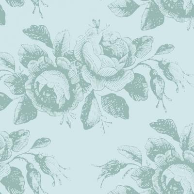 фото ткань tilda old rose mary teal, 100207