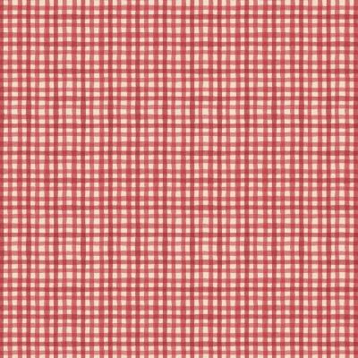 фото  ткань для рукоделия red gingham