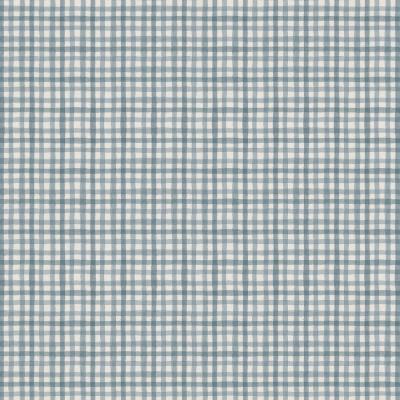 фото  ткань для рукоделия grey blue gingham